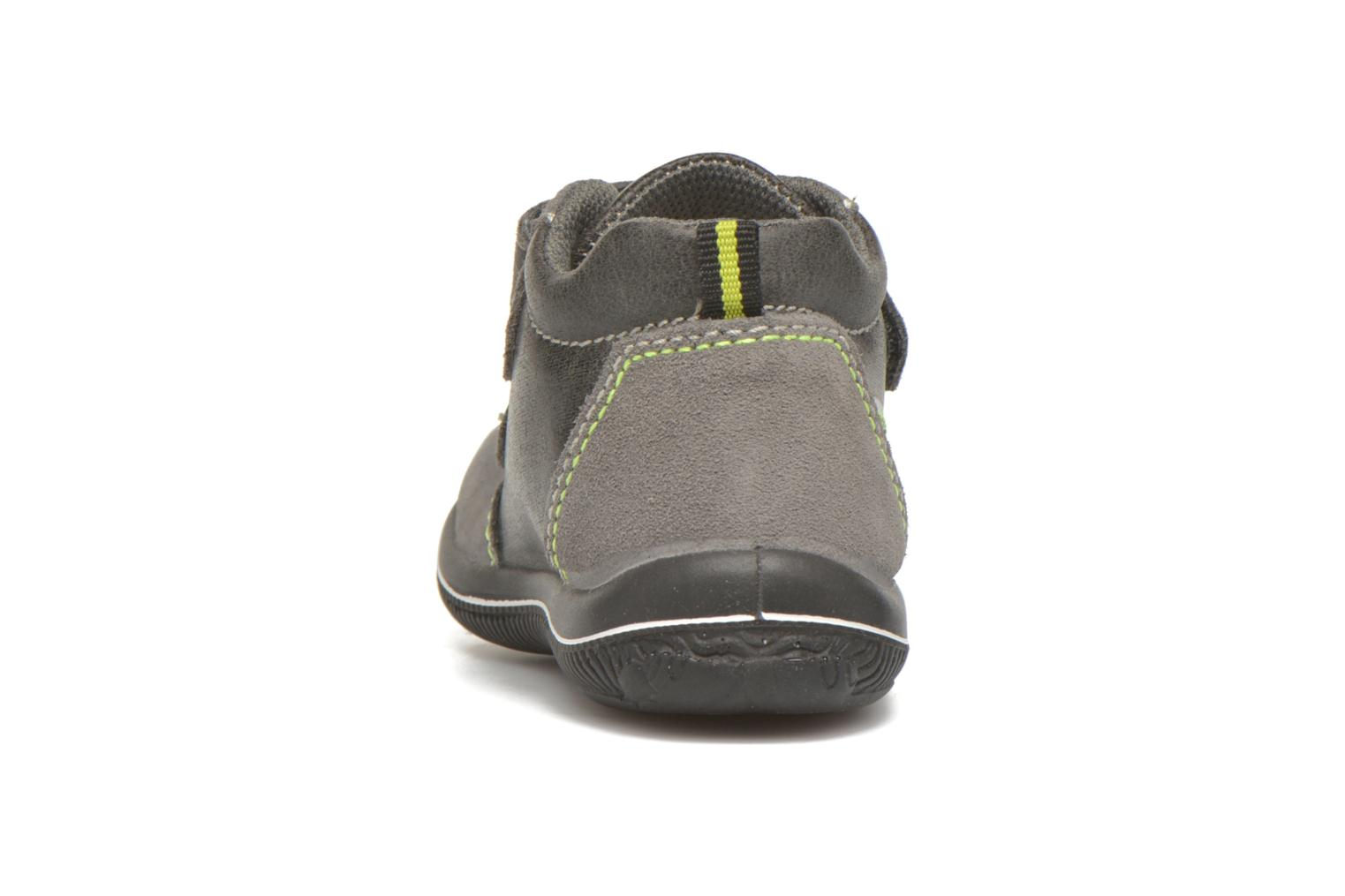 Velcro shoes Primigi Alfredo Grey view from the right