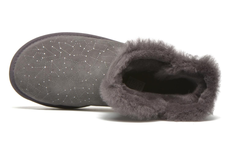 Bottines et boots UGG W Mini bailey button bling constellation Gris vue gauche