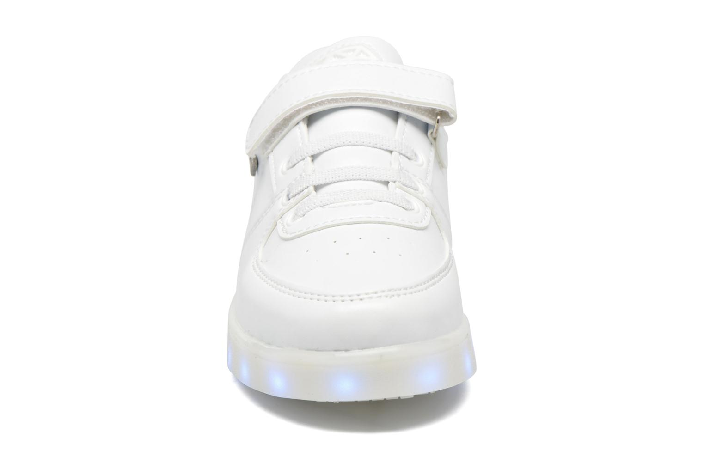 Baskets Cash Money cmf37 Lightlord Blanc vue portées chaussures