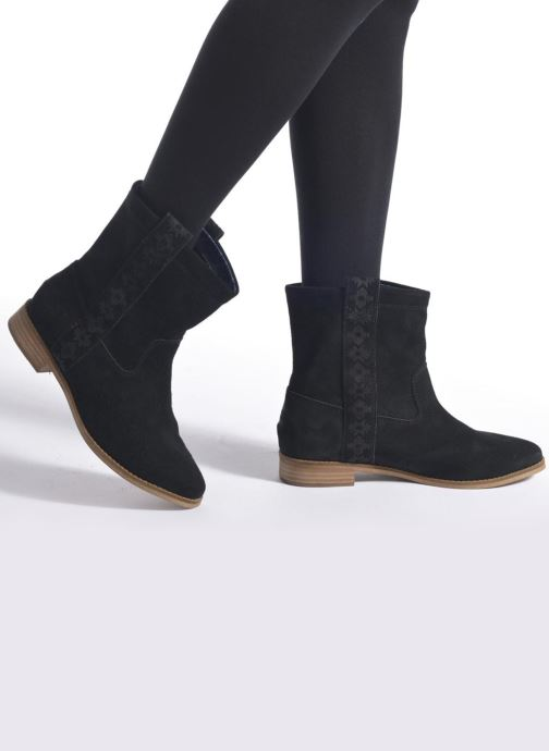 Bottines et boots TOMS Laurel pull-on boot Gris vue bas / vue portée sac