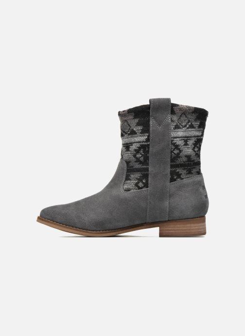 Bottines et boots TOMS Laurel pull-on boot Gris vue face