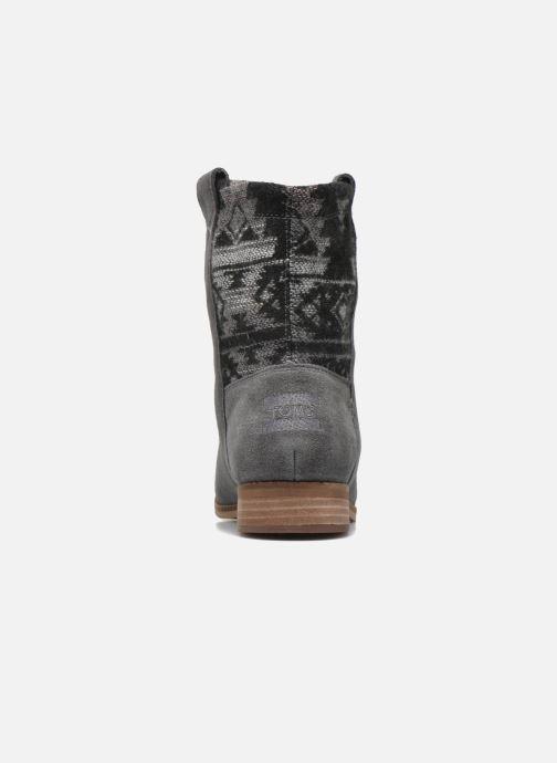 Bottines et boots TOMS Laurel pull-on boot Gris vue droite