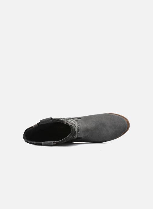 Bottines et boots TOMS Laurel pull-on boot Gris vue gauche