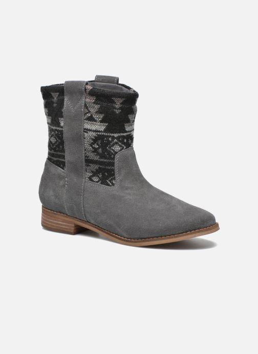 Bottines et boots TOMS Laurel pull-on boot Gris vue détail/paire