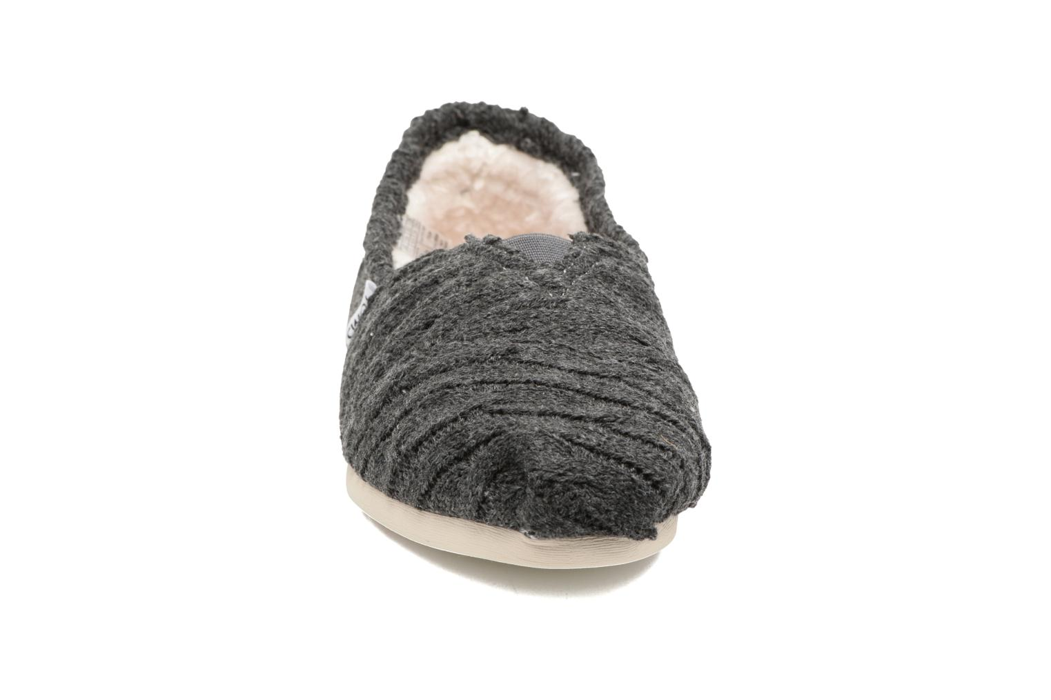 Loafers TOMS Seasonal classics knit Grey model view