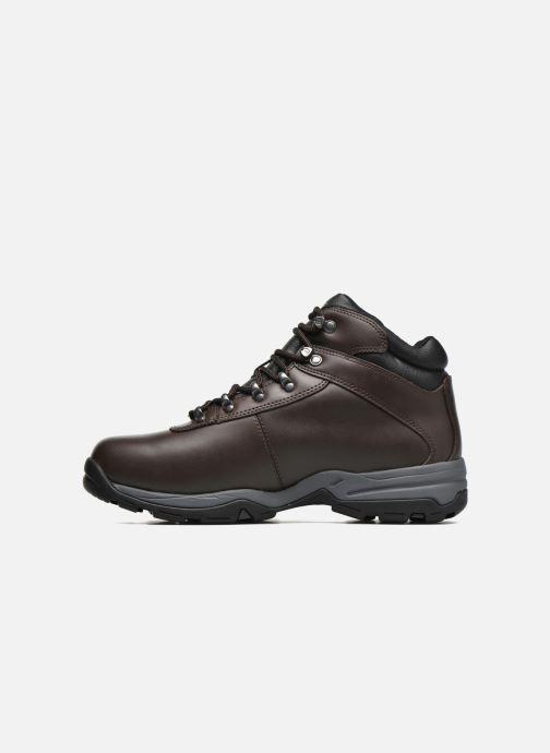 Chaussures de sport Hi-Tec Eurotrek 3 Wp Marron vue face