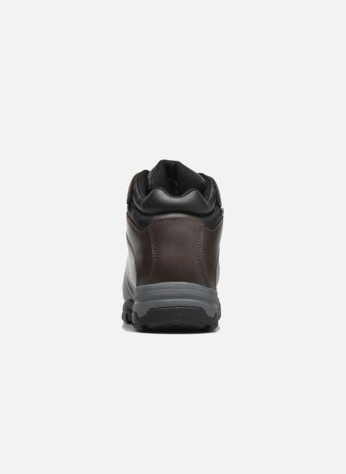 Chaussures de sport Hi-Tec Eurotrek 3 Wp Marron vue droite