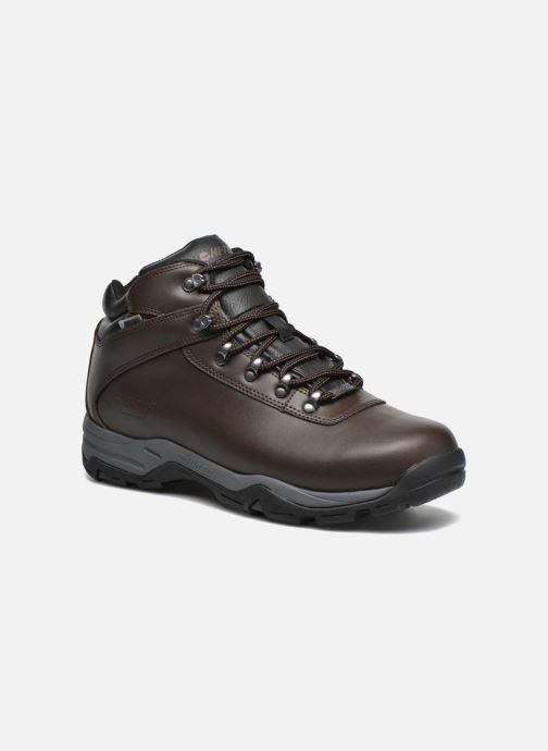 Chaussures de sport Hi-Tec Eurotrek 3 Wp Marron vue détail/paire