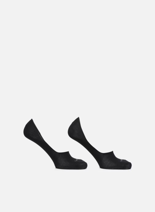 Socken & Strumpfhosen Calvin Klein Lot de deux paires de Chaussettes Invisibles Unies - Black schwarz detaillierte ansicht/modell
