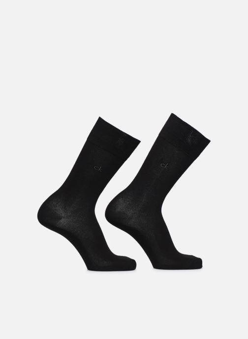 Socken & Strumpfhosen Accessoires Lot de 2 paires de Chaussettes Coton Unies