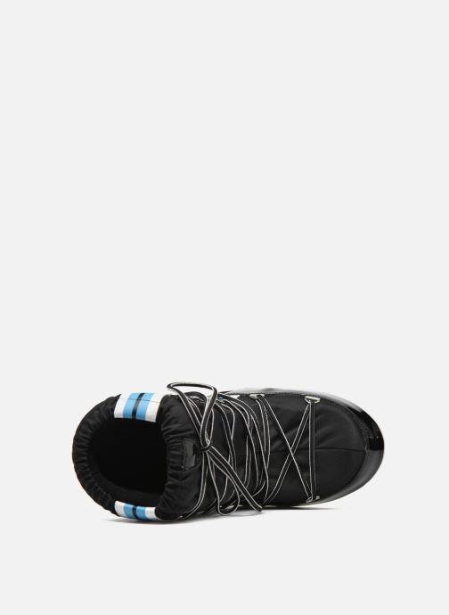 Stiefel Moon Boot Training schwarz ansicht von links