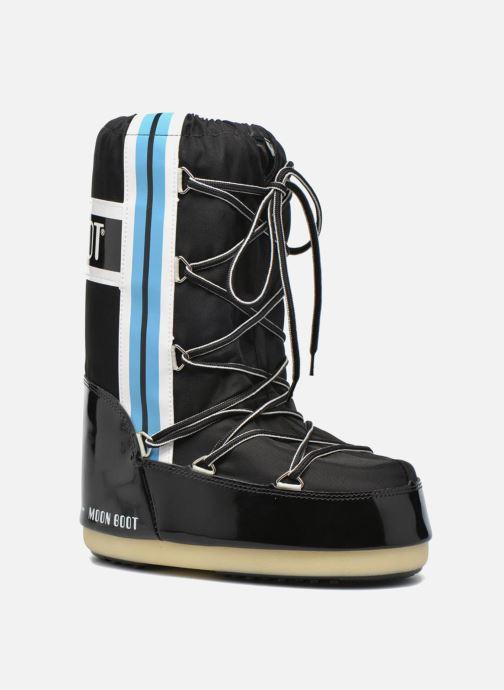 Bottes Moon Boot Training Noir vue détail/paire