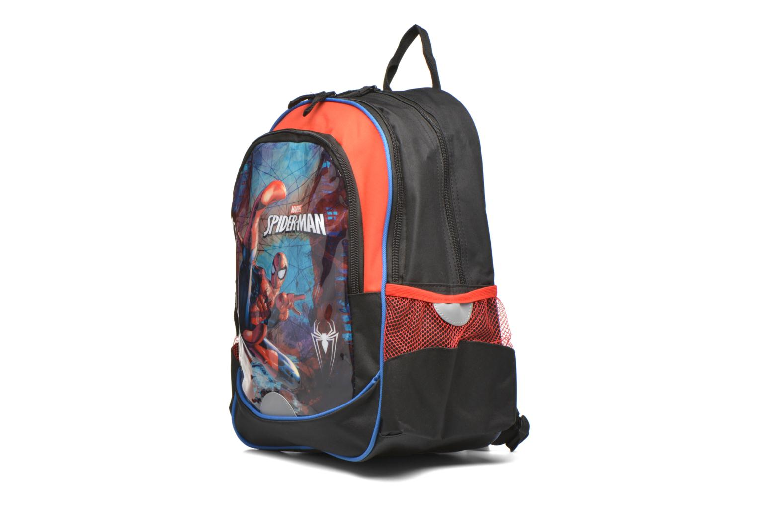 Skoletasker Disney Spiderman Backpack Sort se skoene på