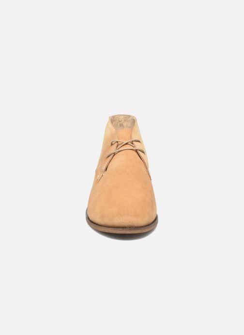 Lace-up shoes M. Moustache Armand Beige model view
