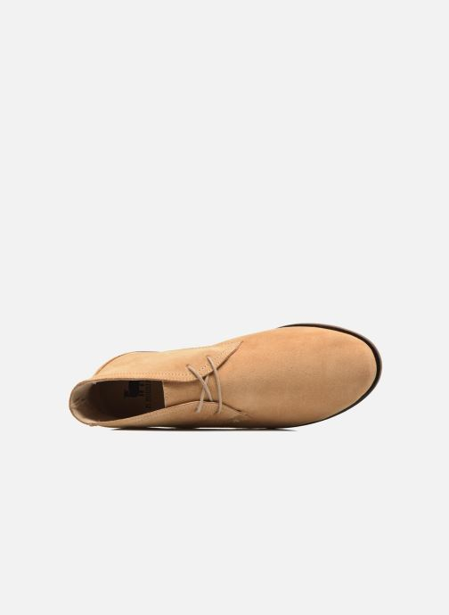 Lace-up shoes M. Moustache Armand Beige view from the left