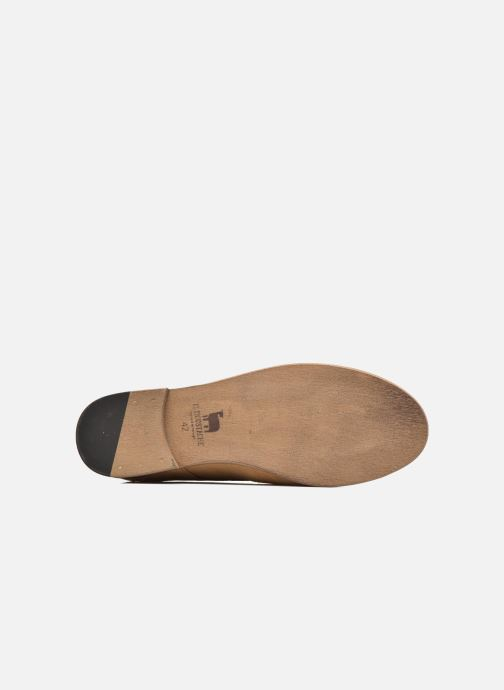 Lace-up shoes M. Moustache Armand Beige view from above