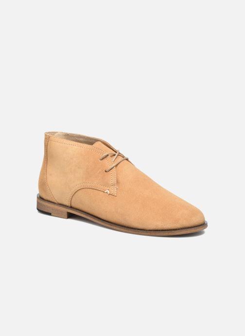 Lace-up shoes M. Moustache Armand Beige detailed view/ Pair view