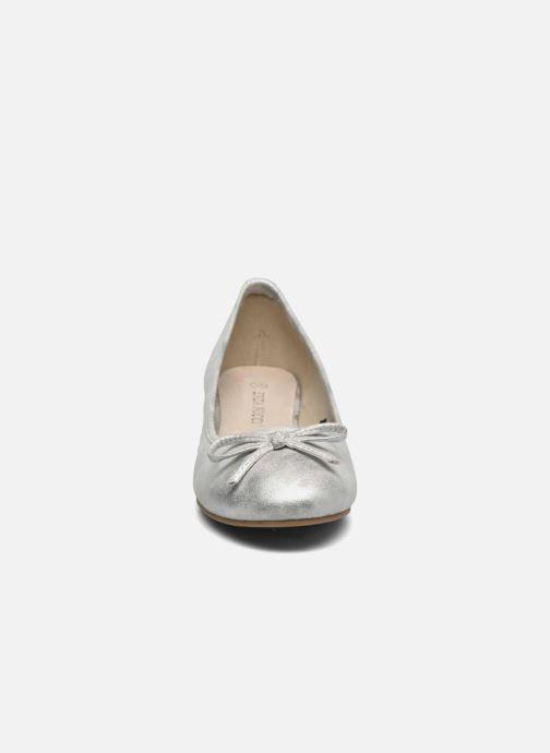 Ballerines Enza Nucci Samantha Blanc vue portées chaussures
