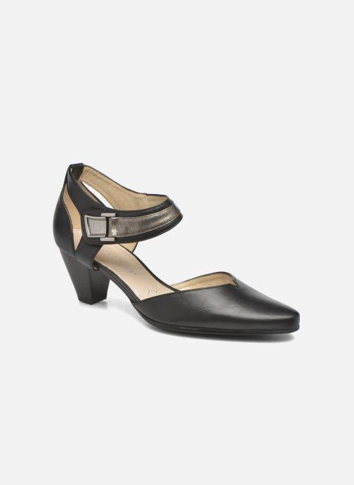 High heels Enza Nucci Johanna Black detailed view/ Pair view