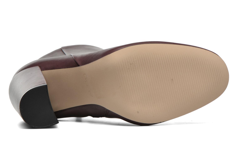 Stiefeletten & Boots Aldo ARAVIA weinrot ansicht von oben