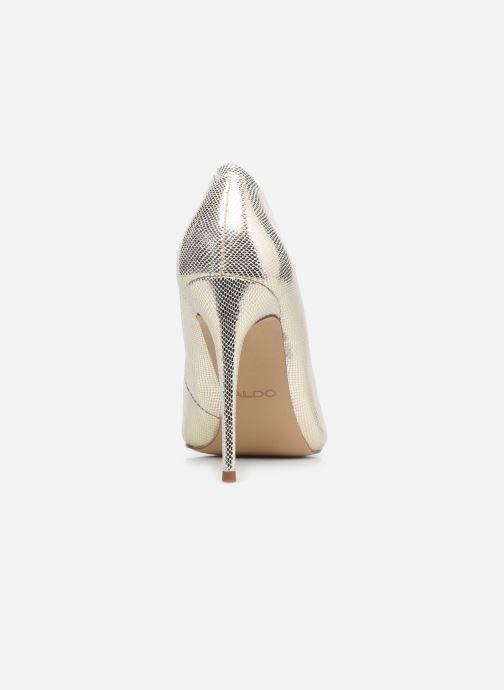 Zapatos de tacón Aldo STESSY Oro y bronce vista lateral derecha