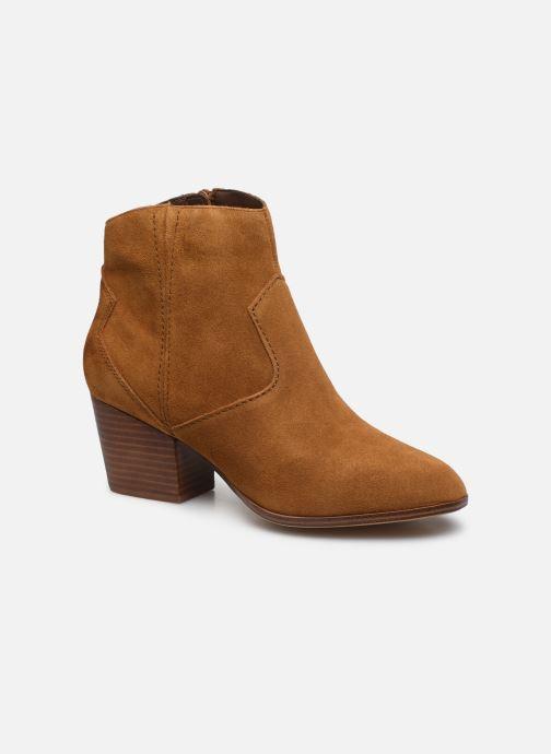 Bottines et boots Aldo MARECCHIA Marron vue détail/paire