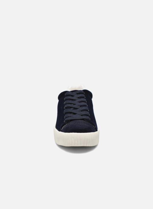 Baskets Aldo DEANDREA Bleu vue portées chaussures