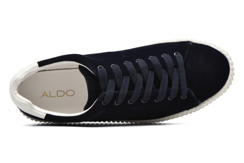 Baskets Aldo DEANDREA Bleu vue gauche