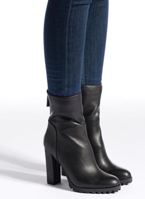 Bottines et boots Aldo FRESA Noir vue bas / vue portée sac