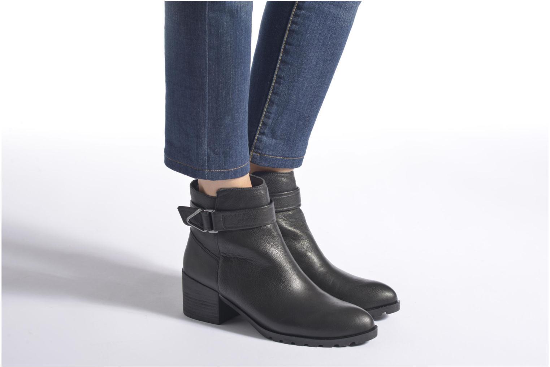 Bottines et boots Aldo TOFINO Noir vue bas / vue portée sac