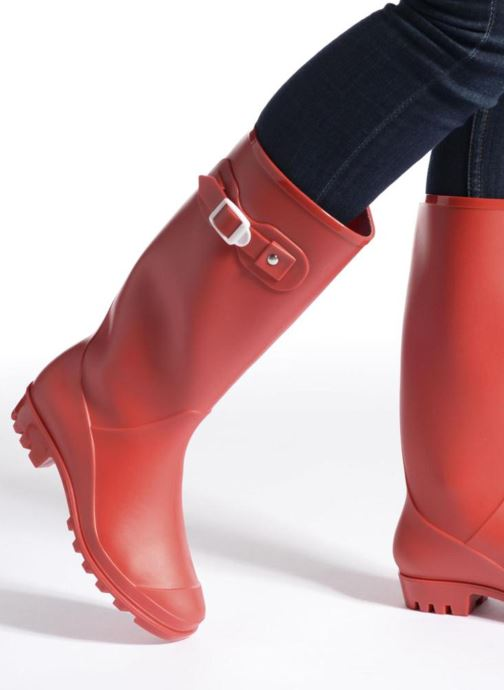 Boots & wellies SARENZA POP OLODO Black view from underneath / model view
