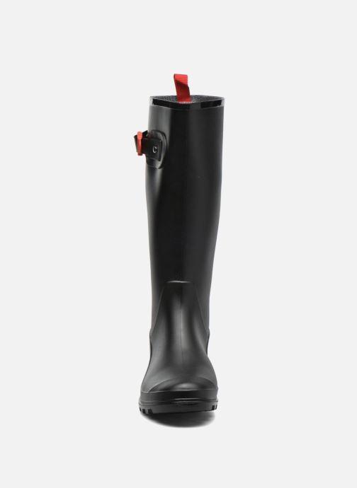 Bottes SARENZA POP OLODO Noir vue portées chaussures