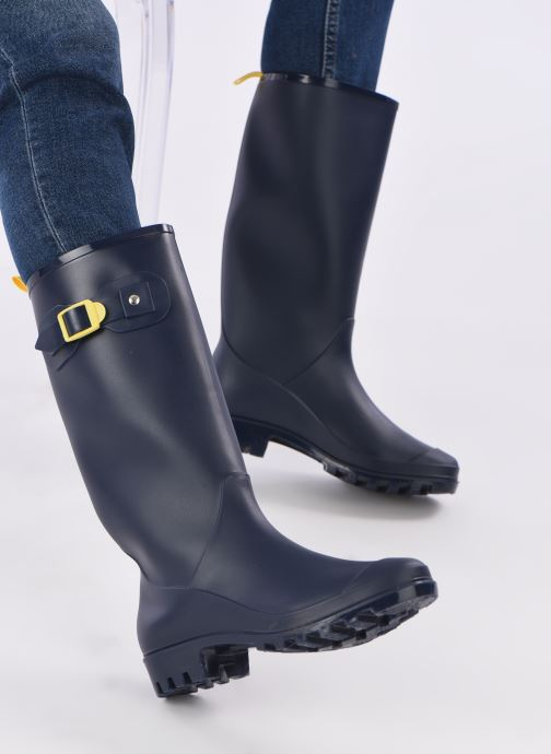 Boots & wellies SARENZA POP OLODO Blue view from underneath / model view