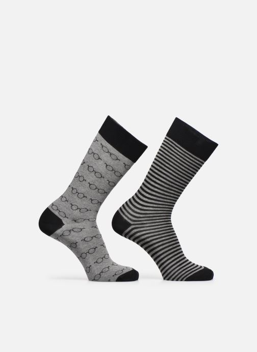 Socken & Strumpfhosen Sarenza Wear Chaussettes Lunettes Pack de 2 Homme coton schwarz detaillierte ansicht/modell