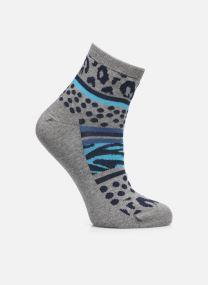 Chaussettes leopard femme coton
