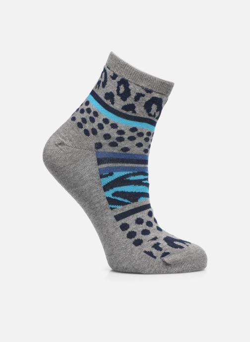 Sokken en panty's Sarenza Wear Chaussettes leopard femme coton Grijs detail