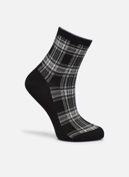 Socken & Strumpfhosen Sarenza Wear Chaussettes lurex femme coton schwarz detaillierte ansicht/modell