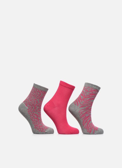 Socken & Strumpfhosen Sarenza Wear Chaussettes animal Pack de 3 enfant coton grau detaillierte ansicht/modell
