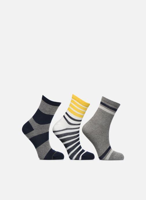 Socks & tights Sarenza Wear Chaussettes motif Pack de 3 enfant coton Blue detailed view/ Pair view