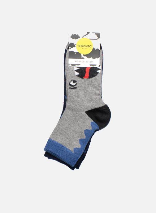 Sokken en panty's Sarenza Wear Chaussettes dinosaures Pack de 2 enfant coton Blauw achterkant