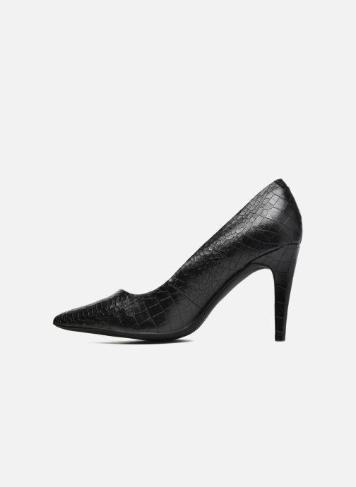 Zapatos de tacón Divine Factory Gina Negro vista de frente