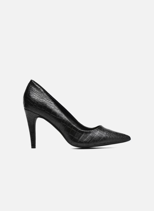 Zapatos de tacón Divine Factory Gina Negro vistra trasera