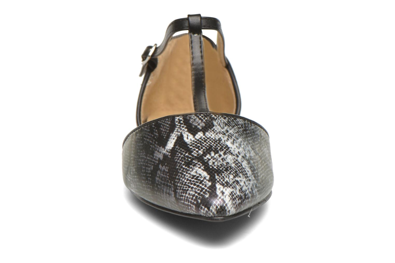 Ballerines Divine Factory Spiri Noir vue portées chaussures