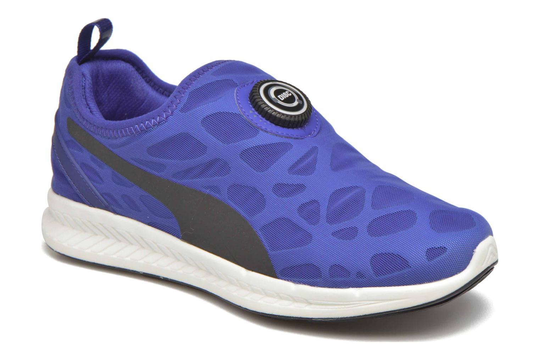 Baskets Puma Disc S Ignite Str Foam W Bleu vue détail/paire