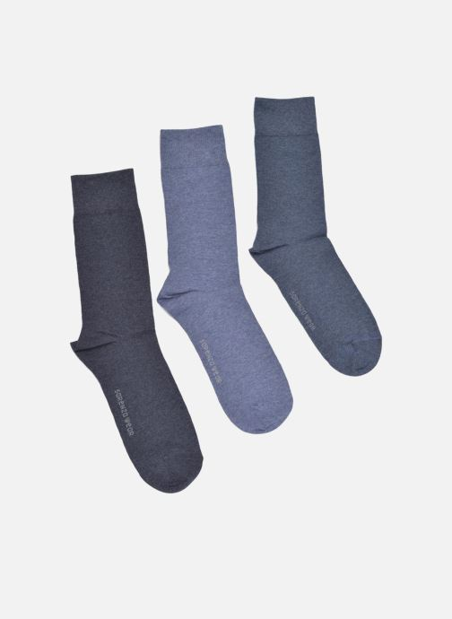 Socken & Strumpfhosen Sarenza Wear Chaussettes Pack de 3 Homme Coto... blau detaillierte ansicht/modell