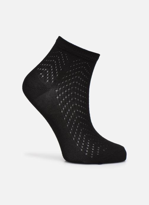 Chaussettes et collants Sarenza Wear Chaussettes Femme ajourées coton Noir vue détail/paire