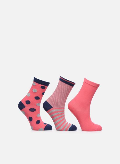 Socken & Strumpfhosen Sarenza Wear Chaussettes pois Pack de 3 Enfant coton rosa detaillierte ansicht/modell