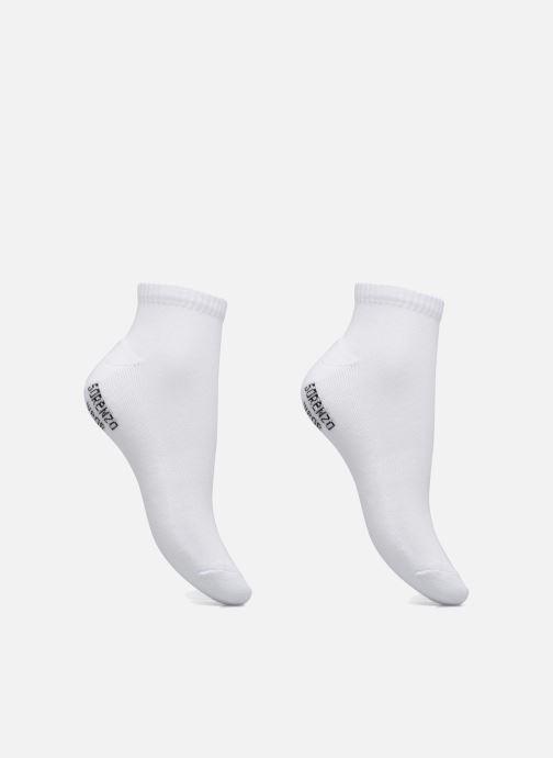 Chaussettes et collants Sarenza Wear Chaussettes sport courtes Pack de 2 femme Blanc vue détail/paire