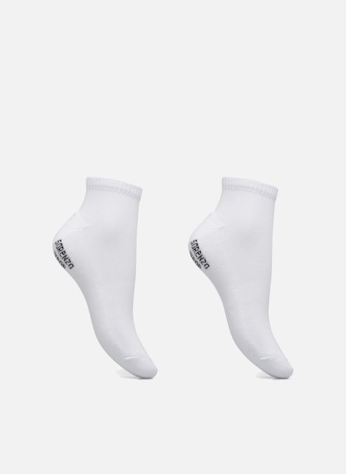 Socken & Strumpfhosen Sarenza Wear Chaussettes sport courtes Pack de 2 femme weiß detaillierte ansicht/modell