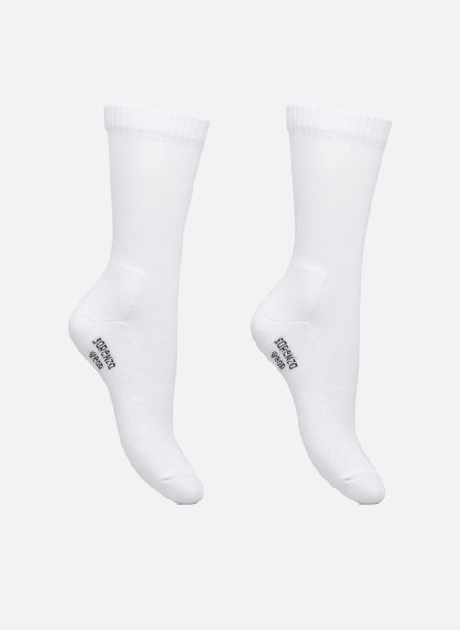 Strømper og tights Accessories Chaussettes sport hautes Pack de 2 femme